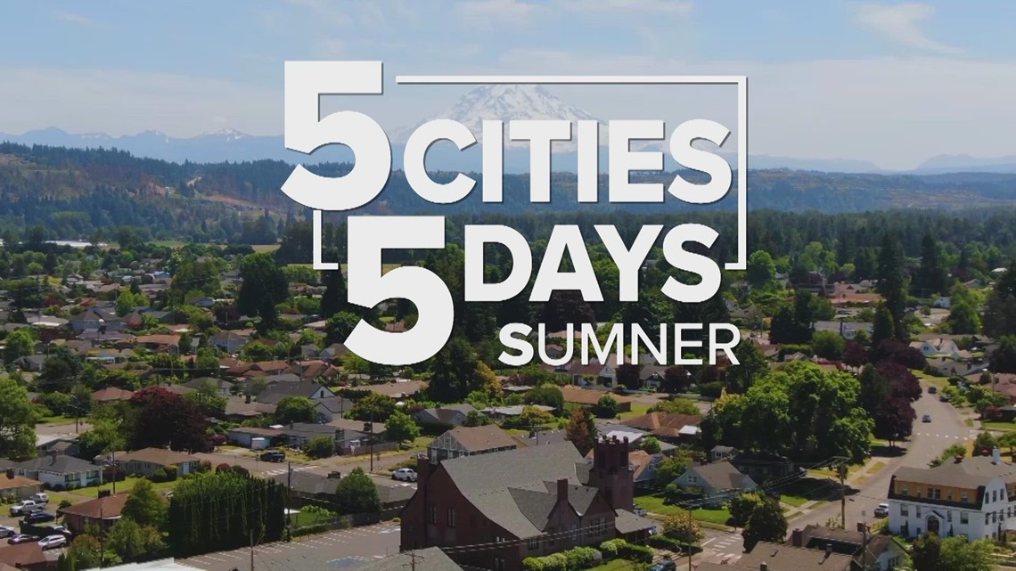 5 Cities in 5 Days: Sumner from above