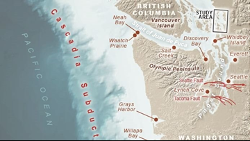 Tsunami from Cascadia earthquake would reach Bellingham in 90 minutes, study finds
