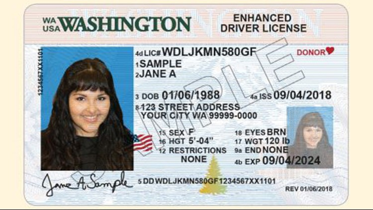 Washington driver's license numbers change Tuesday | king5 com