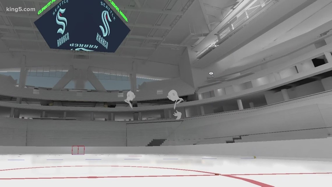 Virtual reality offers 360-degree preview into Seattle Kraken's Climate Pledge Arena