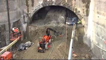Crews complete excavation of East Link Bellevue tunnel