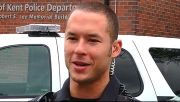 Fallen Officer Diego Moreno remembered as hero during vigil in Kent