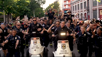 WATCH: Seattle police debut lip sync challenge video
