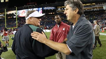Mike Leach jokes he has two years to 'obsess' about Chip Kelly's return