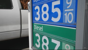 Surging gas prices may be leveling off