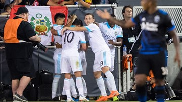 Peruvian forward Ruidiaz gets 1st MLS goal, Sounders win