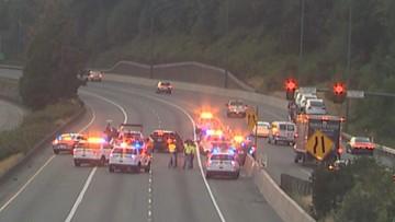 2 Bellevue officers injured in crash on I-405