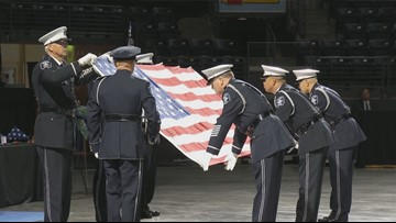 'Honoring a Hero': Tribute to Kent Officer Diego Moreno