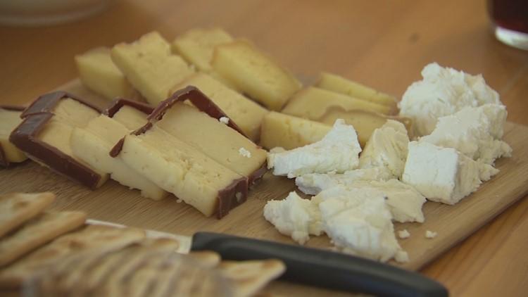 Irish cheese tasting