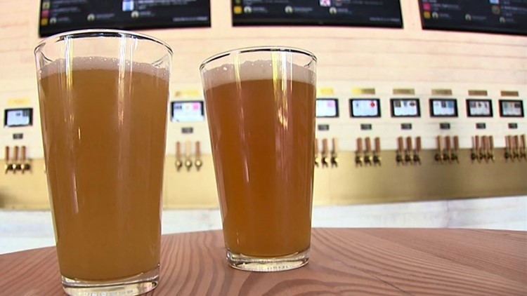 Seattle's first self-pour taproom combines craft beer with high-tech