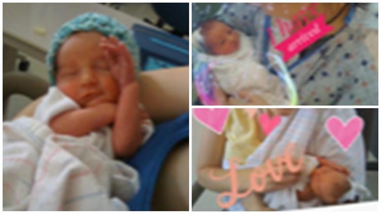 Mystery baby photos