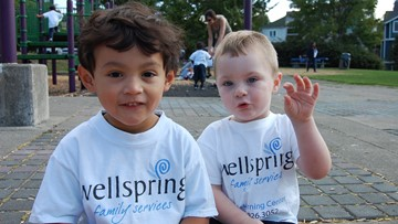 Help Wellspring tackle the homelessness crisis by assisting children and families