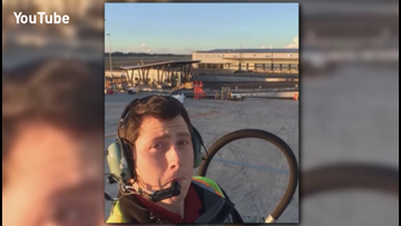 Friendly tone contradicted drastic actions of Seattle plane thief