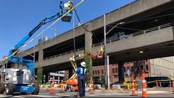 Alaskan Way work begins ahead of Seattle tunnel opening