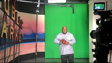 Walter Jones talks high school hoops, Seahawks and working out by pushing a SUV