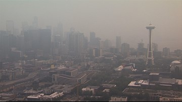 Washington state's air quality is rarely comparable to Beijing's, data show