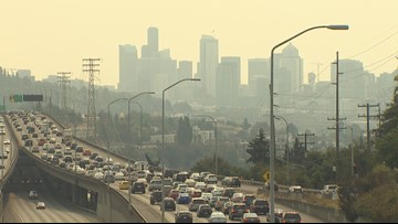 Wildfire smoke played role in Seattle's poor air pollution ranking