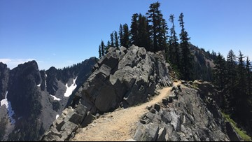 Get 360-degree views at Kendall Katwalk near Snoqualmie Pass