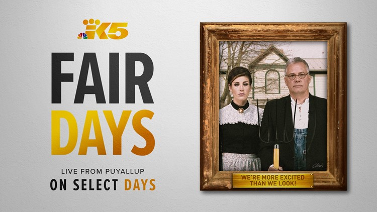 Join us for KING 5 Fair Days 2018 at the Washington State Fair