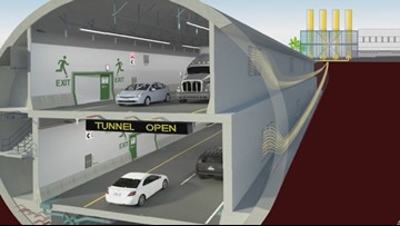 Crews test ventilation system in Seattle's SR 99 tunnel