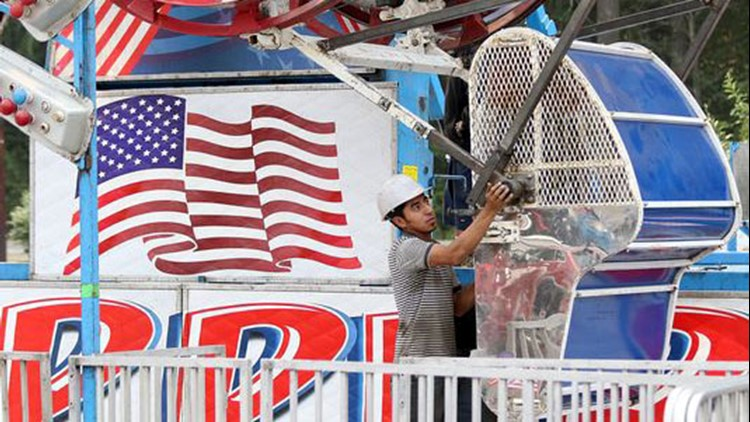 Patrons of the Kitsap County Fair and Stampede have voiced concerns about the safety of many of the amusement park rides at the fair's carnival in the wake of an Aug. 26 accident on the Tilt-a-Whirl ride that left three children with minor injuries.