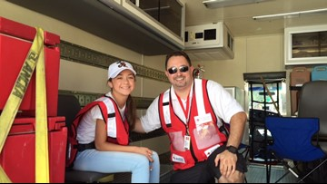 Red Cross volunteer shares what's in his disaster kit