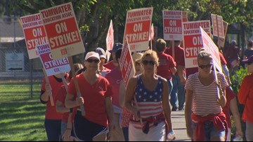 No school Friday in Tumwater as teachers defy judge and