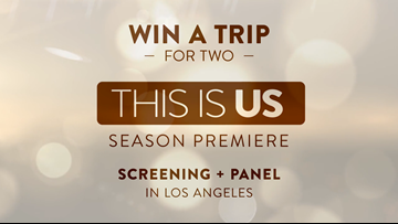 This Is Us/KING 5 Giveaway Official Rules