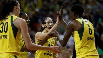 Seattle Storm dominate Game 1 of WNBA Finals