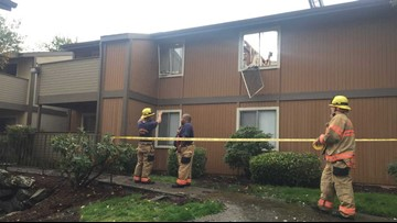 Fire at Federal Way apartments displaces 20 families