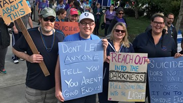 Seattle's Out of Darkness Community Walk helps combat isolation and spread suicide awareness