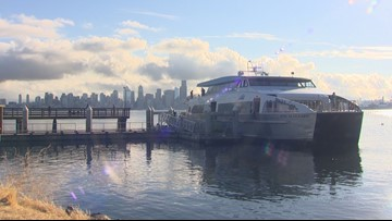 Bus route, water taxi sailing changes for Seattle viaduct closure released