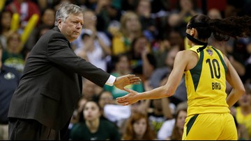 Seattle Storm winning coach 'motivates by love'