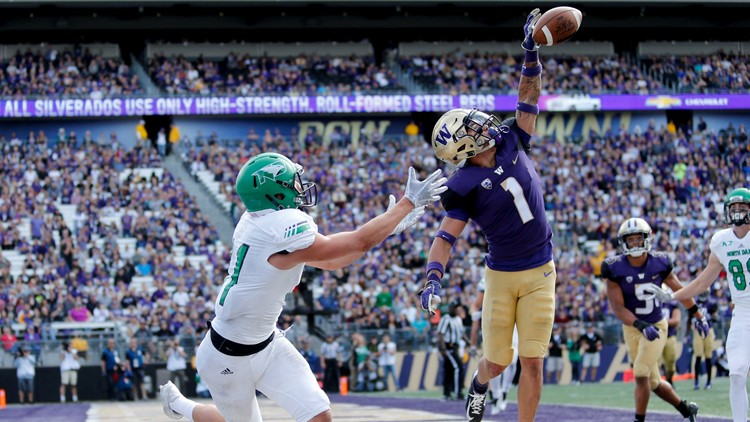 When his team's schedule was finalized, Chris Petersen knew the opening month of the season for No. 10 Washington could end up being quite challenging.