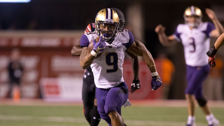 Myles Gaskin ran for 143 yards on 30 carries and added a touchdown, and Washington's defense forced three turnovers as the No. 10 Huskies beat Utah 21-7 on Saturday night.