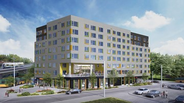 Housing center funded by Paul Allen, Seattle will shelter more than 90 families