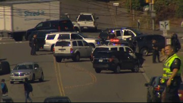 Woman shot while serving eviction notice in Renton