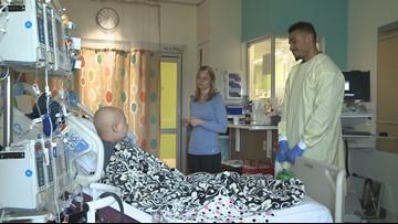 Seattle Children's cancer survivor becomes a caregiver
