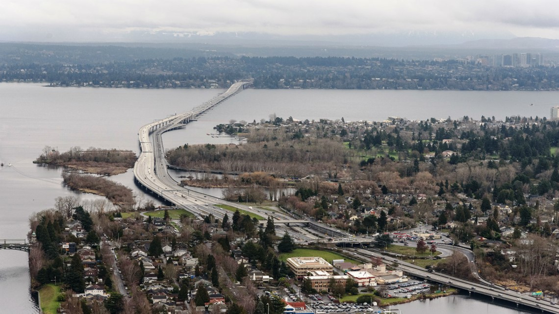 WB SR 520, I-5 in Marysville have closures this weekend