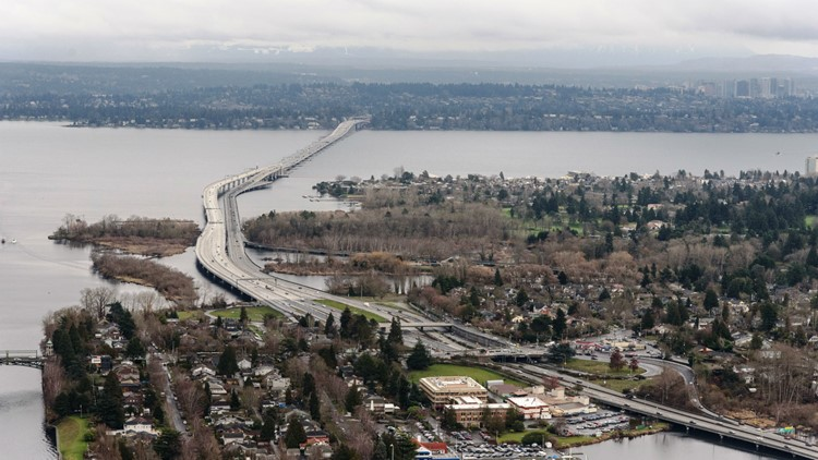 Eastbound lanes of SR 520 reopen early after weekend work