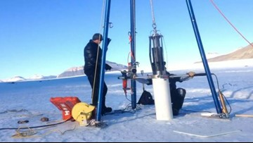 Ancient ice offers clues to Earth's changing atmosphere