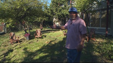 'Serenity garden' plants hope among Bellevue's homeless men