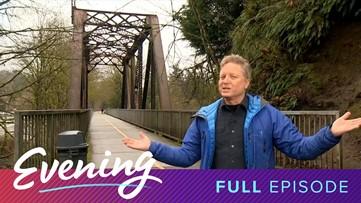 Fri 3/13, Cedar River Walk in Renton, Full Episode, KING 5 Evening - KING 5 Evening