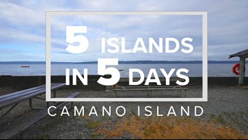 5 Islands in 5 Days: Camano Island