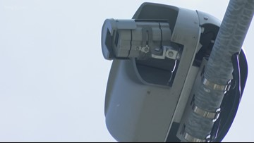 New red light cameras active in Kent