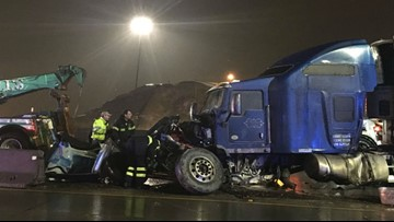 Problematic stretch of I-5 in Tacoma site of multiple crashes in past few months