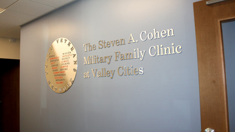 The Steven A. Cohen Military Family Clinic at Valley Cities