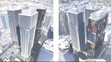 Three new skyscrapers proposed for downtown Bellevue