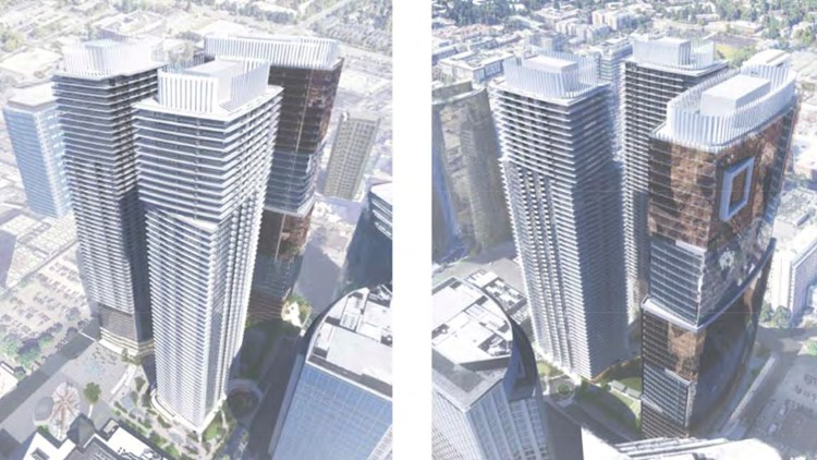 Bellevue towers photo