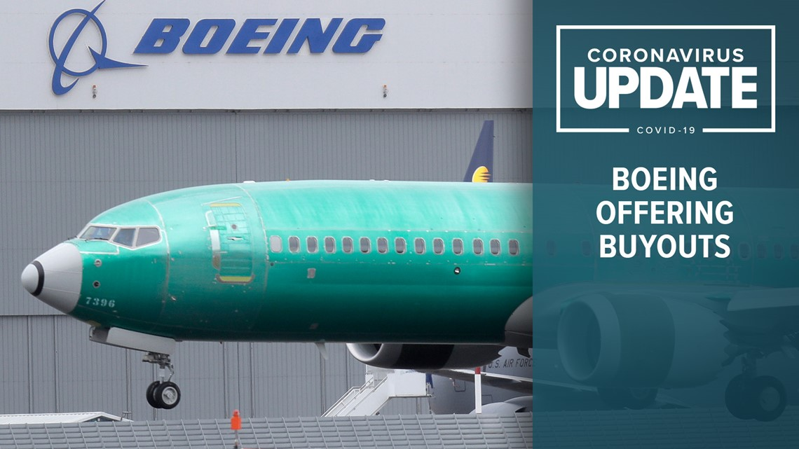 Boeing offers voluntary buyout to employees amid coronavirus pandemic